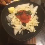 かごの屋 - 明太餅チーズ。