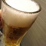 夜景個室ダイニング 星の奏 - 生ビール