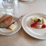シェ・レノン - 前菜とパン