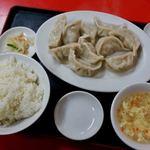 大連 - 水餃子定食 750円