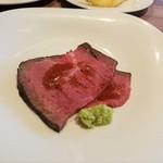 105694382 - 九州産牛もも肉のローストビーフ