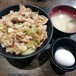 伝説のすた丼屋 - すた丼(並盛り)