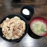 伝説のすた丼屋 - すた丼(ミニ)