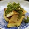 道人 - 料理写真:塚治農園の真子筍と花山椒 古染付の器に映える