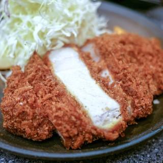 とんかつ檍 - 料理写真:■上ロースかつ定食 200g 1500円
