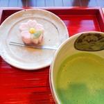 金子茶房 - 時期の生菓子は、さくら。