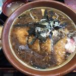鶏の伊藤 - 醤油カツラーメン