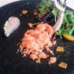 イル ギオットーネ - 鰆、ウイキョウ、柑橘、ボッタルガ