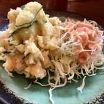 割烹 川松 - ポテトサラダ