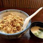 割烹 川松 - かき揚げ丼