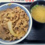 10571671 - 牛丼(並盛)+みそ汁