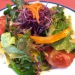 カンパーニャ - ランチセットのサラダ
