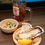 活魚と焼魚 原始焼き酒場ルンゴカーニバル - 生牡蠣1個100円