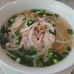 ベトナムレストラン ノンラー - 鶏のフォー700円