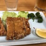 四ツ木製麺所 - 料理写真:鮪メンチカツ