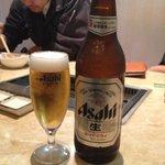 大陸食道 - 瓶ビール:550円