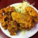 台湾料理 茂源 - 鶏のからあげ680円