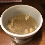 美味卵家 - セットのスープ