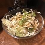 美味卵家 - セットのサラダ