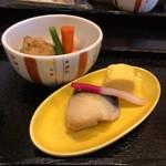 shirakawabetteinihonryourioomori - 法佐城御膳(煮物、焼魚)