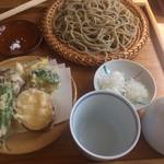 まん作 - 野菜天せいろ1300円