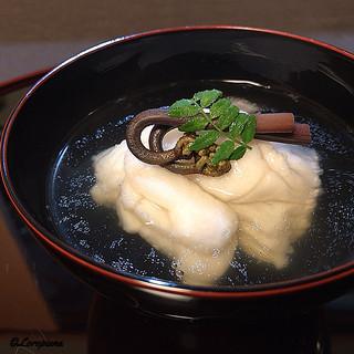 御料理 寺沢 - 料理写真:鮎魚女と薇の椀物