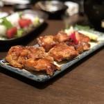 花かるた - 三河地鶏のべっ甲焼き