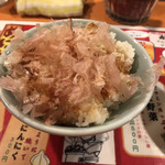さっぽろジンギスカン - ねこ飯 小ライス(300円)