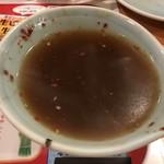 さっぽろジンギスカン - スープになったつけダレ