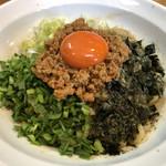 ときわ亭 - 料理写真:台湾まぜそば   880円
