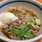 蕎麦一心たすけ - 朝そば・冷(360円)