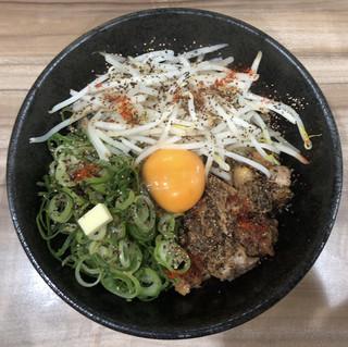 ラー麺 陽はまた昇る - まぜ麺 780円