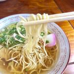 真木食堂 - 麺リフト