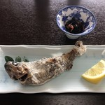 大幸園 - 川魚の塩焼き(虹鱒)