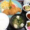れすとらん さかき - 料理写真:黒毛和牛かつ定食1600円