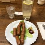カフェクレール - 料理写真:レモンハイは、1st, 2nd で二杯。