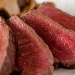神戸旬膳K's Kitchen - 神戸牛ランプ備長炭グリルステーキ