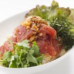 魚太郎・蔵のまちCafe - まぐろ漬け丼