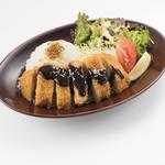 魚太郎・蔵のまちCafe - 手仕込み! 三河豚ロースの味噌カツプレート