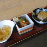 ムラヤマ - 料理写真:前菜