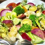 六味酒肴 QU - 温野菜サラダ