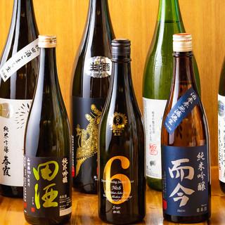 厳選!30種類以上の日本酒