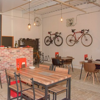 サイクリストフレンドリーなレストラン