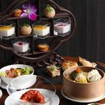 星期菜 - 香港茶棚飾りデザート付き飲茶ランチ
