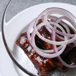 星期菜 - 赤ワイン香る黒酢の酢豚