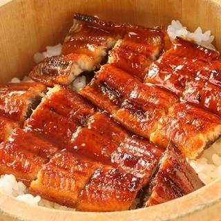 食べログ評価★3.8!名物「丸ごと一本鰻のひつまぶし」!
