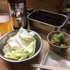 元祖串かつ だるま - 料理写真:キャベツとどて焼き