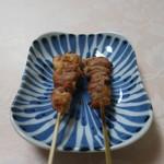 炭屋 串兵衛 - 正肉(塩)せせり(塩)