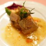 ピッツェリア・サバティーニ - 豚すね肉のレモン煮込みローズマリー風味