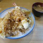 105769952 - 天丼 1,000円 ※ご飯大盛り無料